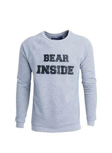 Bad Bear Sweatshirt Gri